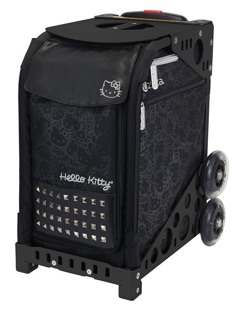 Zuca Hello Kitty , Haute Glamスポーツバッグとブラックフレーム、non-flashingホイール B075JRWTXW
