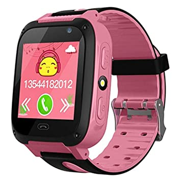 kisshes Smart Watch para niños, Smartwatch, SOS Emergency Call ...