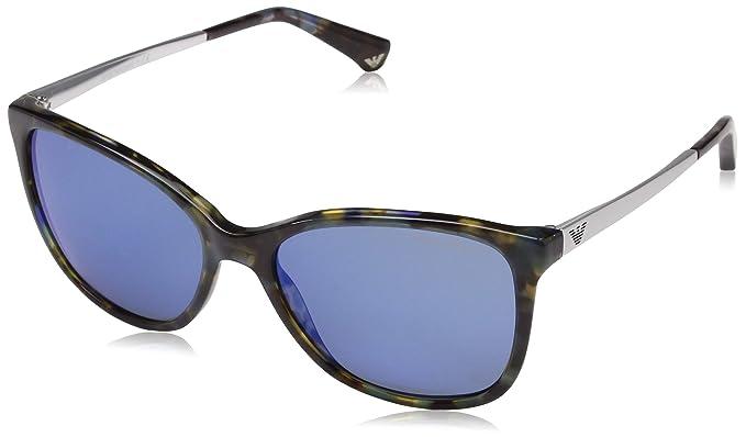 0cecf2abccb2 Image Unavailable. Image not available for. Color: Giorgio Armani Men's  AR6040-300181-58 Black Aviator Sunglasses