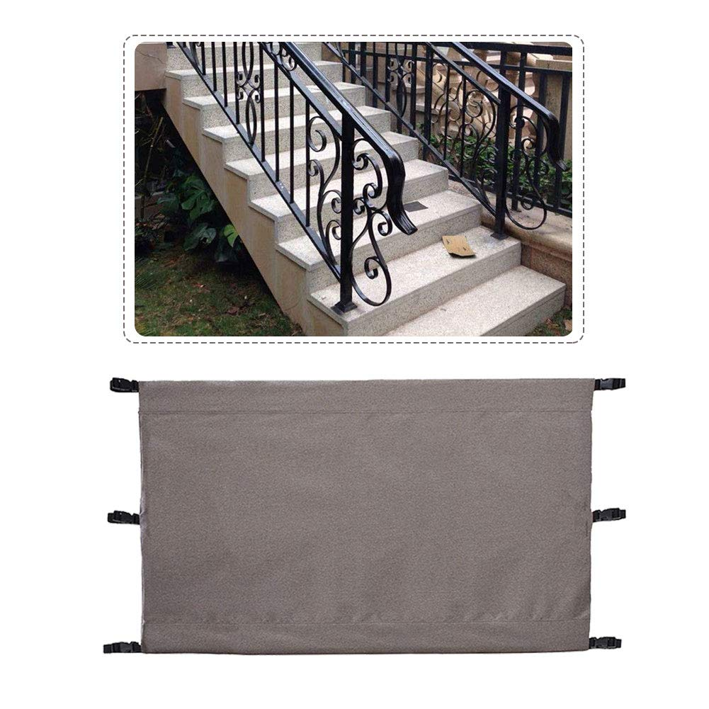 Pet Enclosure, Portable Safety Gate Dog Pet Baby Kids Barrier Protector  Home Doorway Room Divider Stair Guard, Can Attach To Any Shape Of Banister  ...