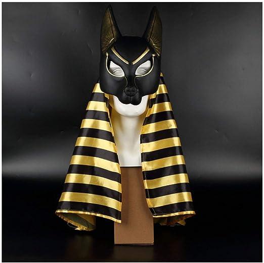 YaPin Dios patrono Egipcio, el Dios de la Muerte, máscara de ...