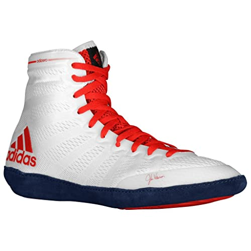 timeless design ad012 b915c ... low price adidas chaussures pour homme adizero varner wrestling 14 core  white scarlet bleu marine a9a11
