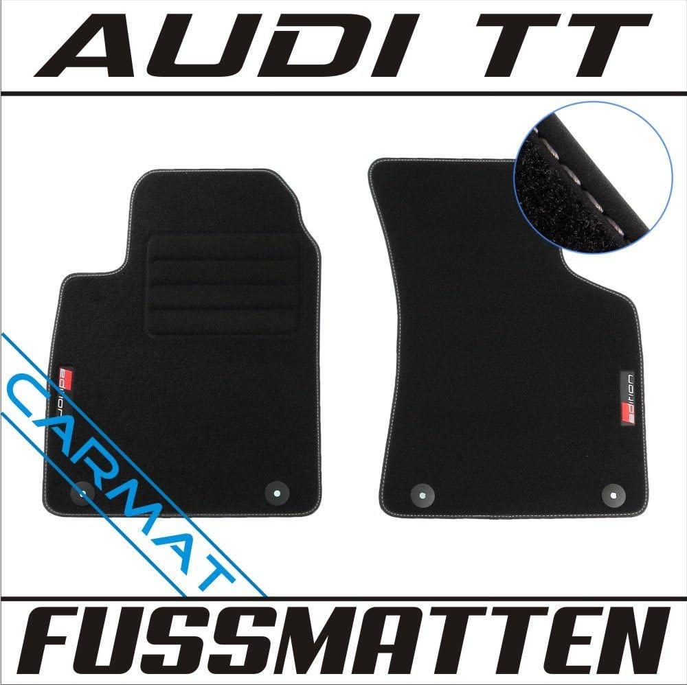 Fußmatten für AUDI TT 8N Original Qualität Velours Automatten Auto-Teppiche