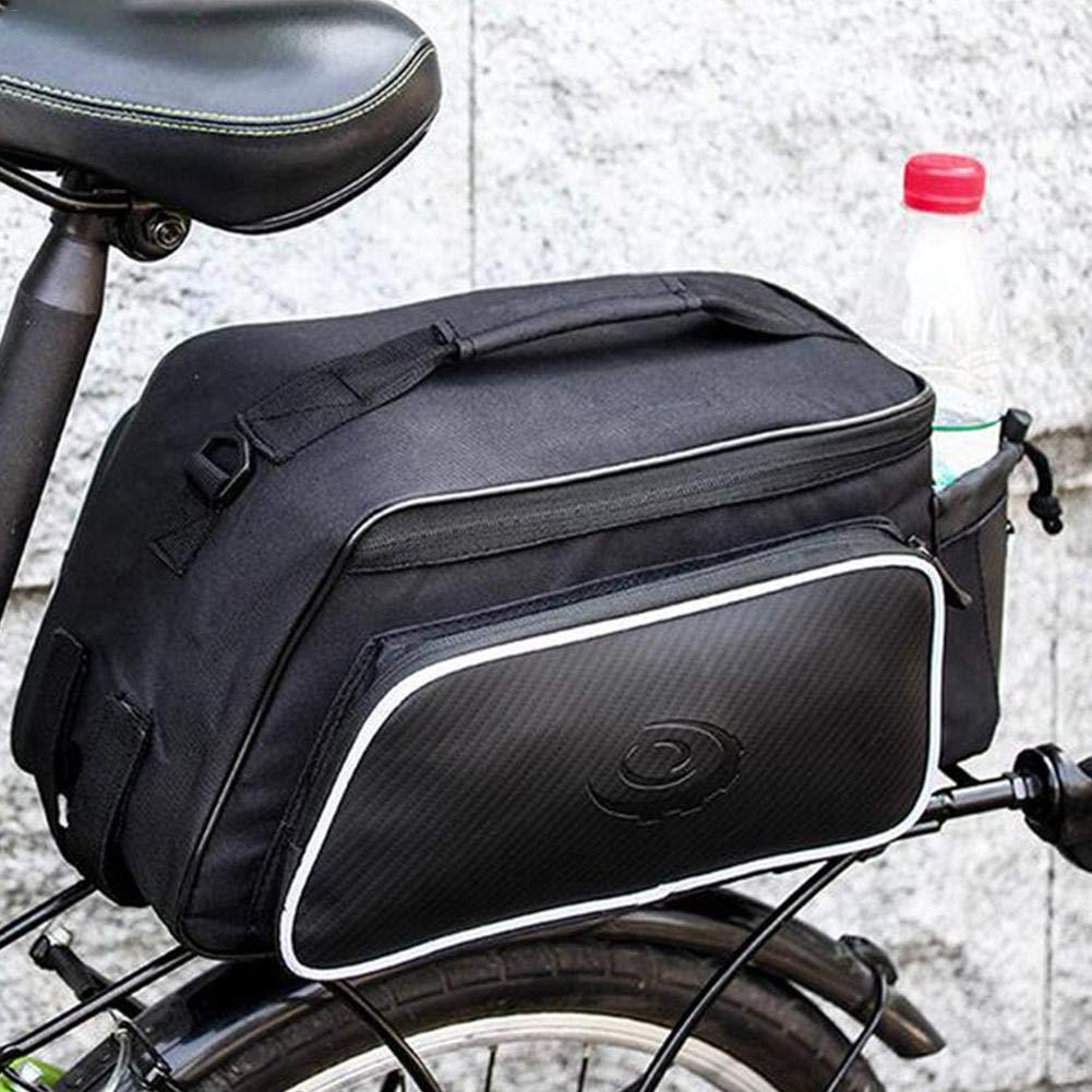 Fahrradtasche Multifunktions Outdoor Hinten Sitz Trunkbag Wasserdicht Fahrrad Gep/äcktaschen mit reflektierender und Regenschutzdeckel 10L Futurepast Gep/äcktr/ägertaschen Satteltaschen f/ür Rennrad