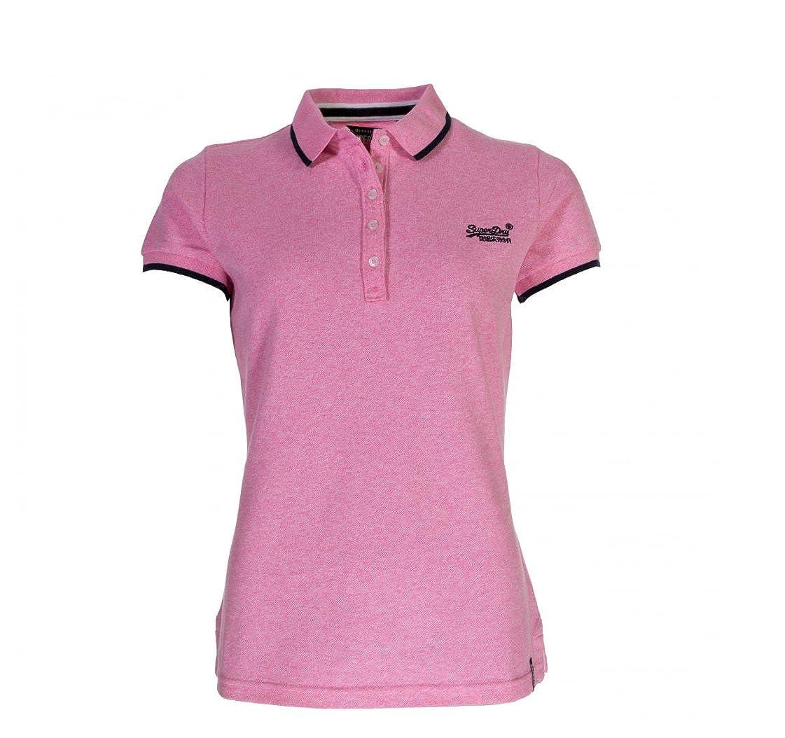 Superdry - Polo - para Mujer Fluro Pink XS: Amazon.es: Ropa y ...