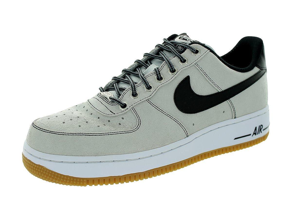 Nike Air Force 1 Premium Platinum nero bianco gomma