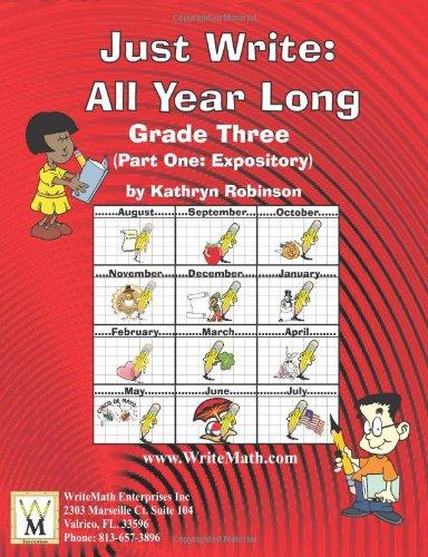 3rd Grade Expository Writing Lessons, Activities, Grammar  Week-By-Week Writing Curriculum ebook