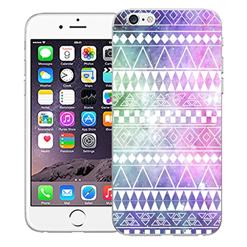 "Mobile Case Mate iPhone 6 4.7"" Silicone Coque couverture case cover Pare-chocs + STYLET - Hippie pattern (SILICON)"