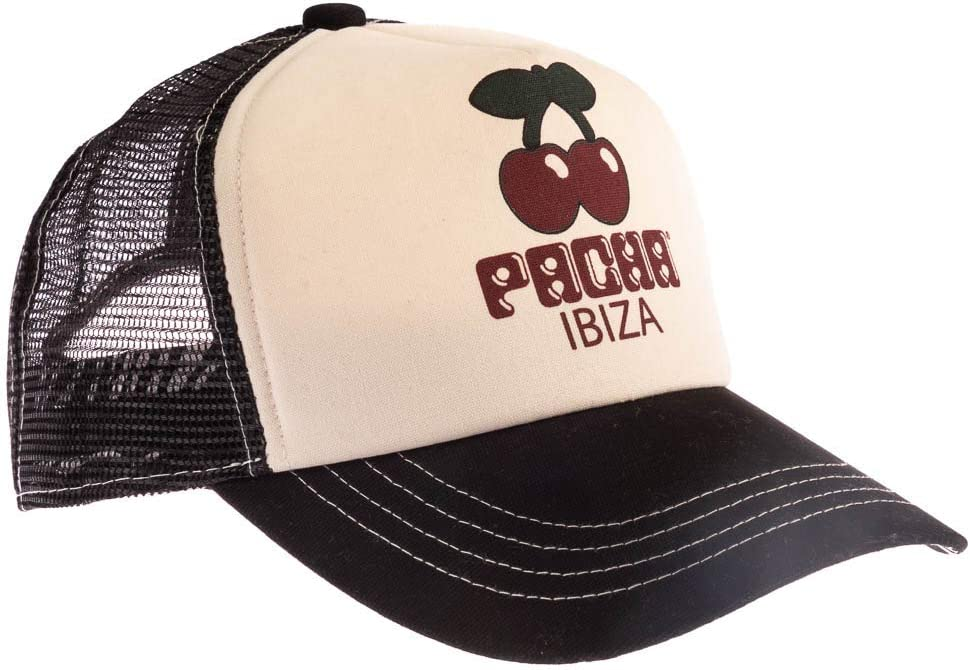 PACHA - Gorra Negra Ibiza Oficial Unisex: Amazon.es: Deportes y ...