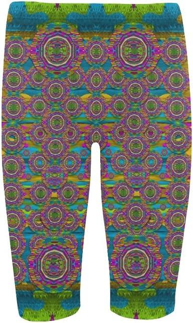 Capri Legging D-Story Fashion Womens Skinny Pants