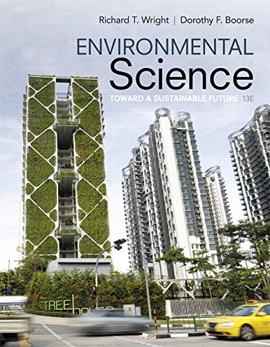 134011279 - Environmental Science: Toward A Sustainable Future (13th Edition)