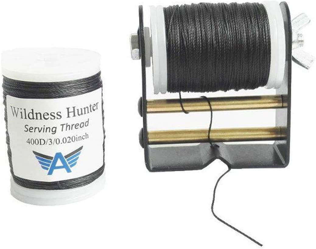 China Wilderness Hunter Archery Bowstring Serving Thread 130 Yards Length Serving Threads for Tie Peep Sight