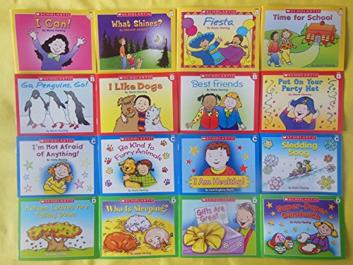 Lot 16 Scholastic Learn to Read Early Beginning Readers Set Children's Books (Halloween Activities For Kindergarten Writing)