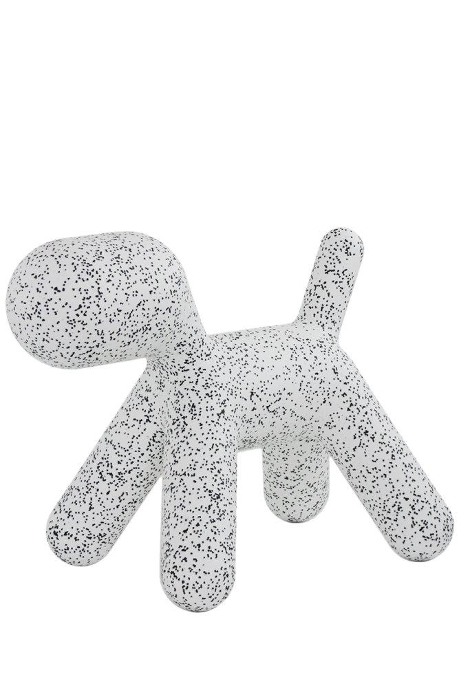 Magis Dalmatian Puppy Hund L, schwarz weiß Größe 3 LxBxH 69,5 x 42 x 55,5cm