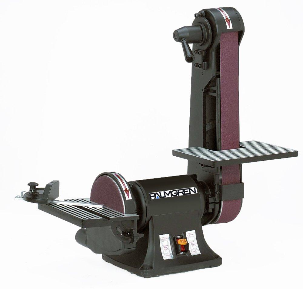 Palmgren 2'' x 42'' Belt, 6'' Disc bench finishing machine by Palmgren