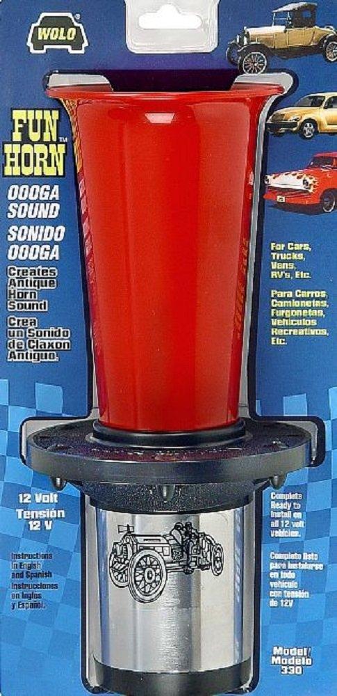 61V2mDKNeFL._SL1000_ amazon com wolo (330) fun horn 12 volt, ooogah sound automotive ooga horn wiring diagram at crackthecode.co