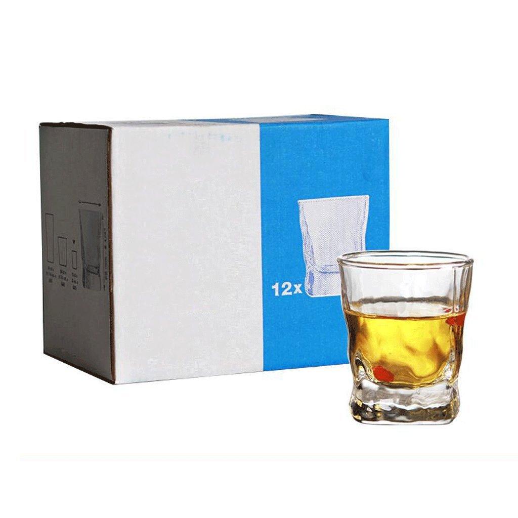 12 Verres Whisky dans 60ML Barre de Potation Petite Capacit/é 60ML UOMUN