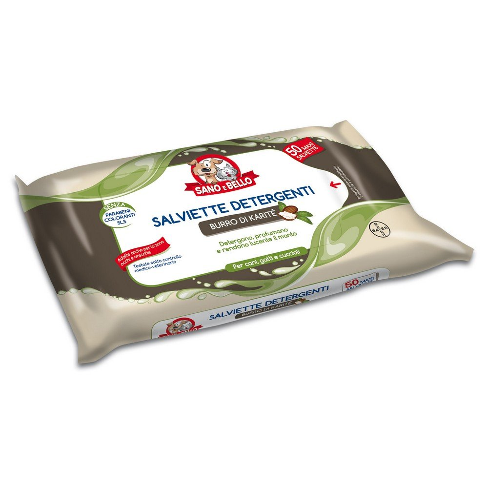 SANO E BELLO En limpie 50pieces Shea Butter para perros: Amazon.es: Productos para mascotas