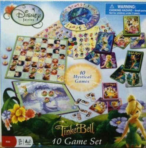 Disney Fairies TinkerBell 10 Game - Checkers Fairies Disney