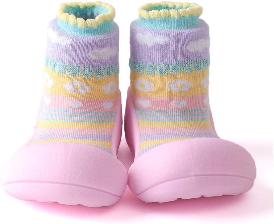 Chaussures pour b/éb/és de Atipasu Ati Bebe Taille M Rose Attibebe de 11.5cm