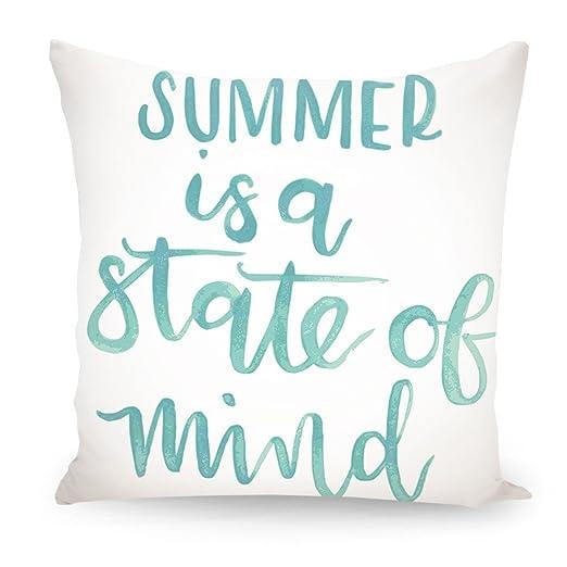 artboxONE cojín verano es un Estado de mente diseño cojín ...