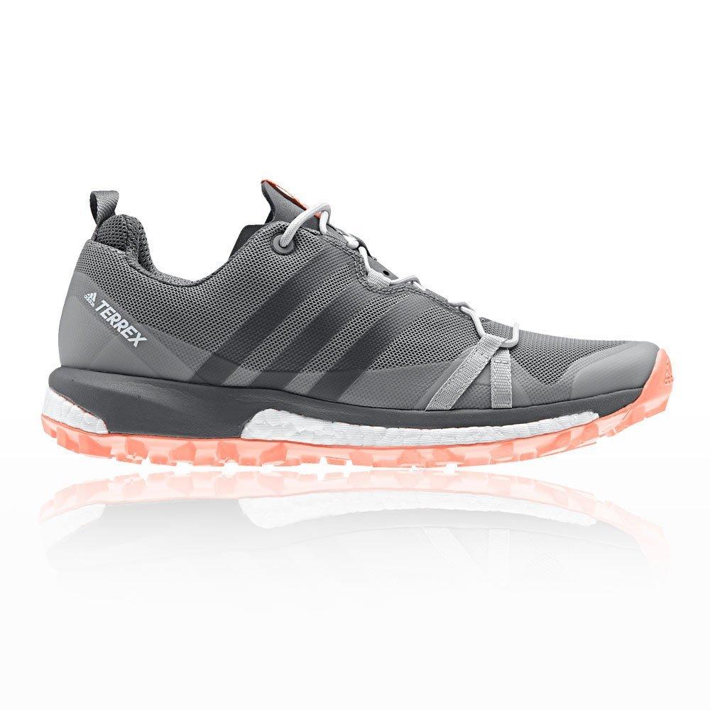 Adidas Terrex Agravic W, Zapatillas de Trail Running para Mujer 43 1/3 EU|Gris (Gritre/Gricua/Cortiz 000)