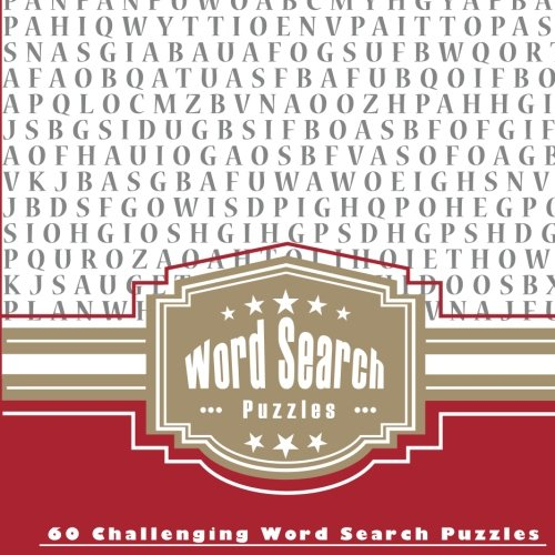 Word Search Puzzles 60 Challenging product image