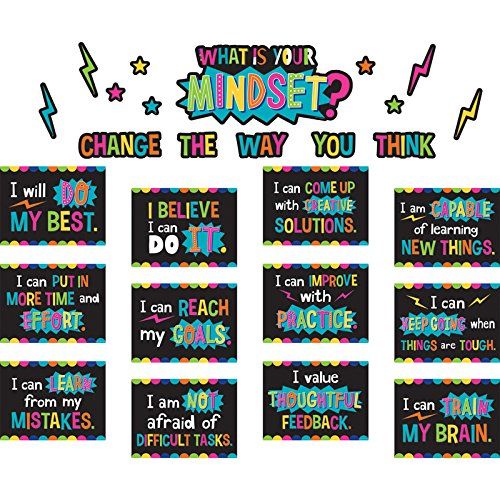 Teacher Created Resources What is Your Mindset? Bulletin Board (TCR8882) from Teacher Created Resources