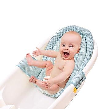 LELUN Bebé del Cojín De Baño Infantil, Ducha De Bebé Net ...