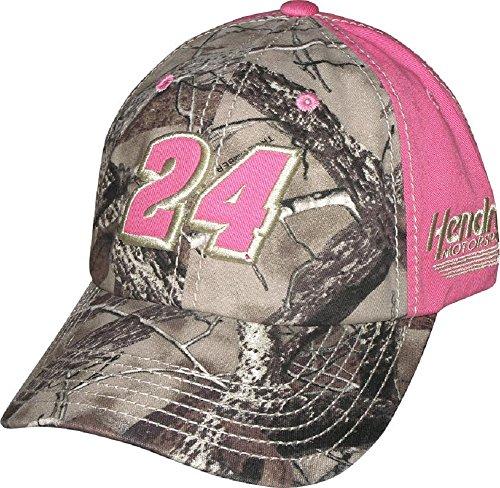 (NASCAR Ladies Driver Truetimber Trailing Adjustable Hat Cap-Jeff Gordon #24)