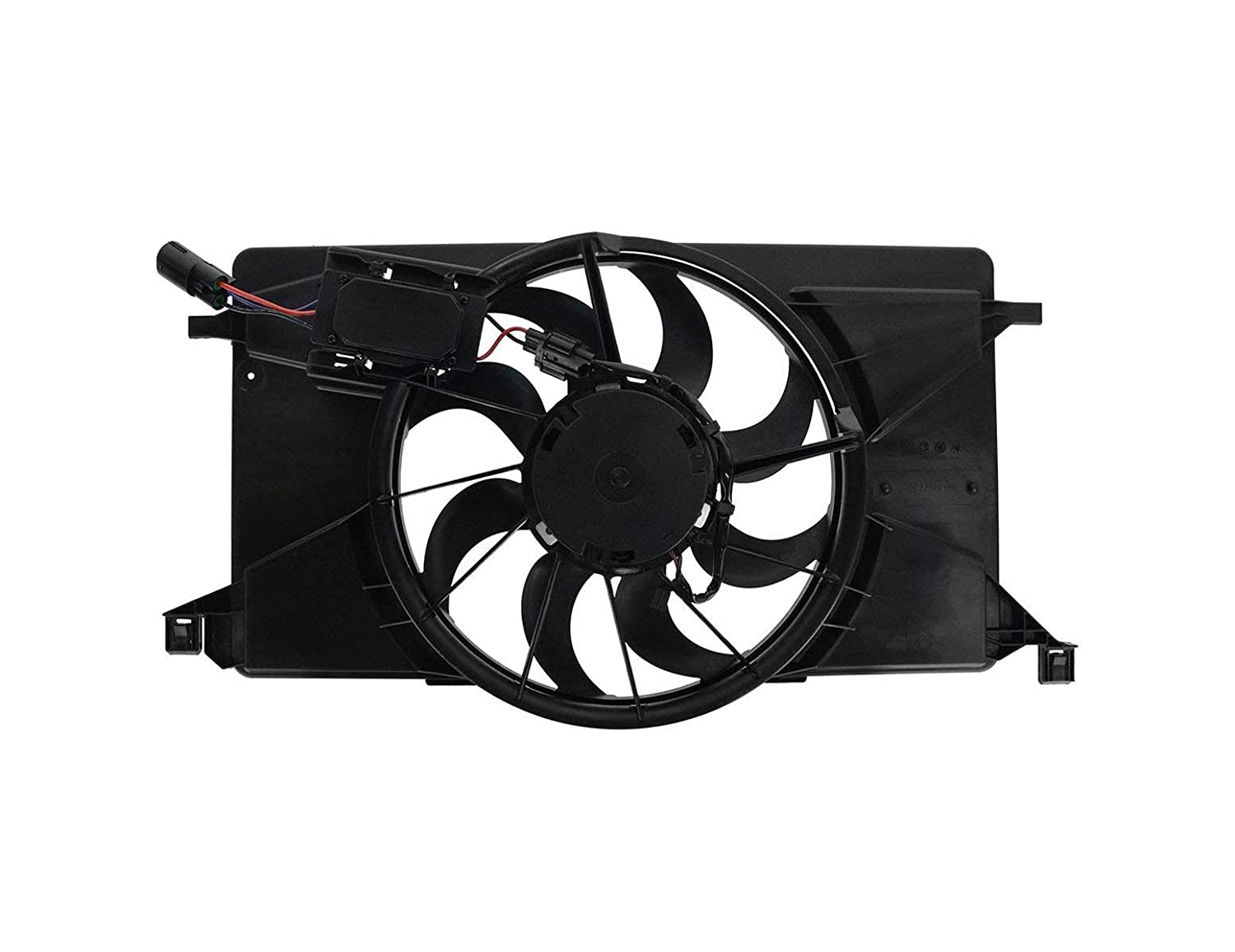 Engine Cooling Fan Assembly - Cooling Direct For/Fit FO3115189 12-18 Ford Focus 2.0L w/o Turbo