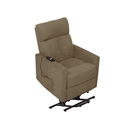 629ef9a2000 Image Unavailable. Image not available for. Color  ProLounger Power Recline  and Lift Chair Recliner in Sage Grey Microfiber