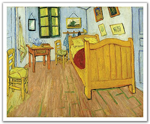 (JP London POS2290 uStrip Peel and Stick Van Gogh Removable Wall Decal Sticker Mural De Slaapkamer Painting, 24-Inch by 19.75-Inch)
