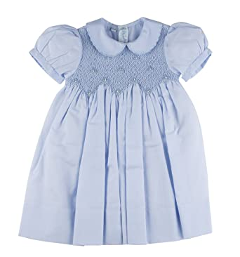 54ae215cee794 Amazon.com: Feltman Brothers Smocked Dress with Pearls: Clothing