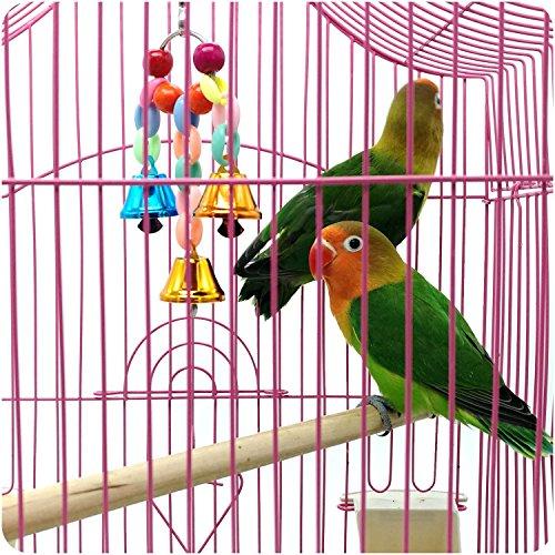 BWOGUE 5 Pack Bird Toys
