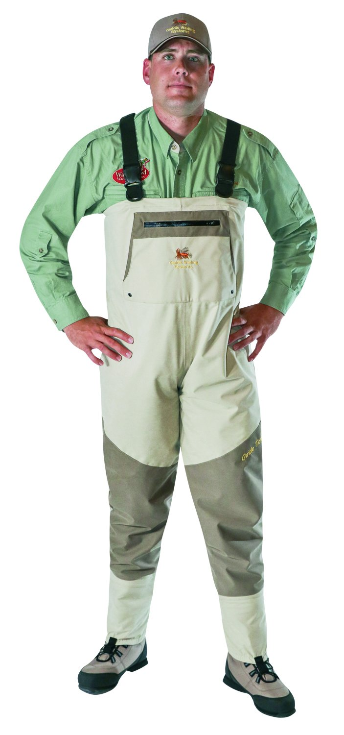 Caddis Herren grau und braun braun braun Northern Guide atmungsaktiv Stocking Foot Wader ceda19
