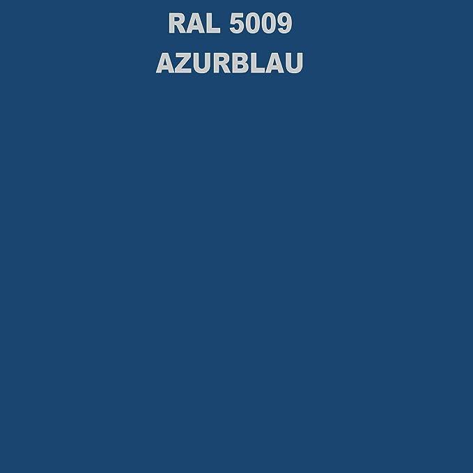 1 Spraydose 400ml Autolack Glänzend Ral 5009 Azurblau Auto