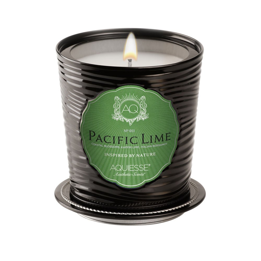 Aquiesse Pacific Lime Luxe Tin Candle by Aquiesse