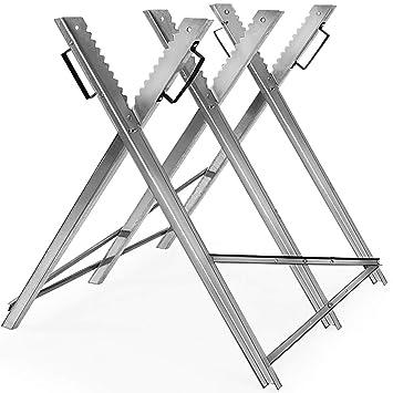 Favorit Monzana Sägebock | Metall | 83x81x88cm | verzinkt | 150kg CQ28