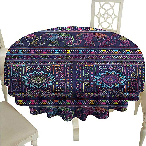 (Vintage tablecloths Psychedelic,Middle Eastern Persia,for Umbrella Table)