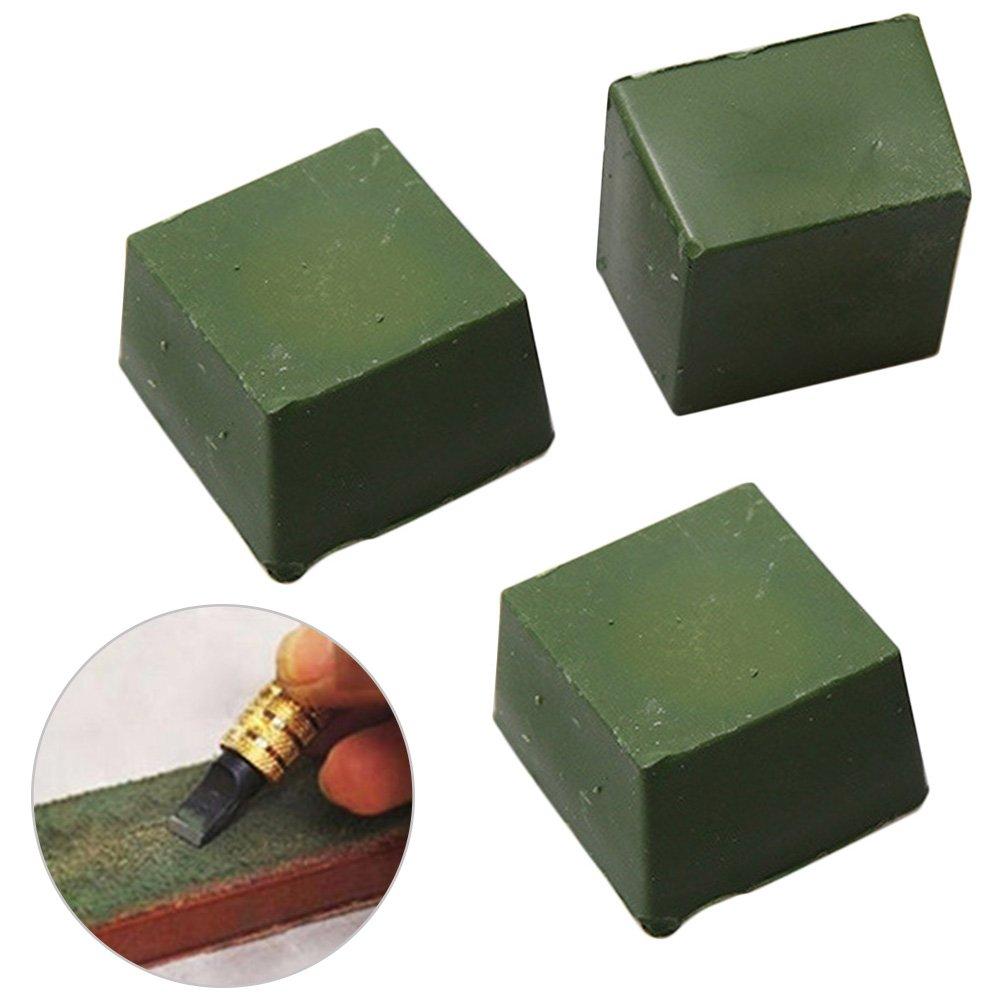 New Leather Strop Sharpening Polishing Compound Leathercraft Abrasive Tool
