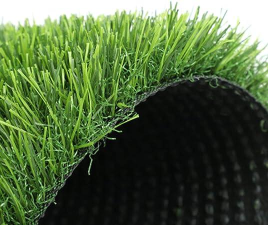 NOOYC Césped Artificial para los Perros, 20 mm de Alta Densidad Suave Cesped sintético Realista fácil de Limpiar Hierba Artificial para Jardín y Terraza,1x2m/3x6ft: Amazon.es: Hogar