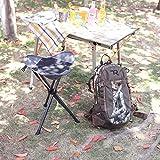 PORTAL Tall Slacker Chair Folding Tripod Stool for