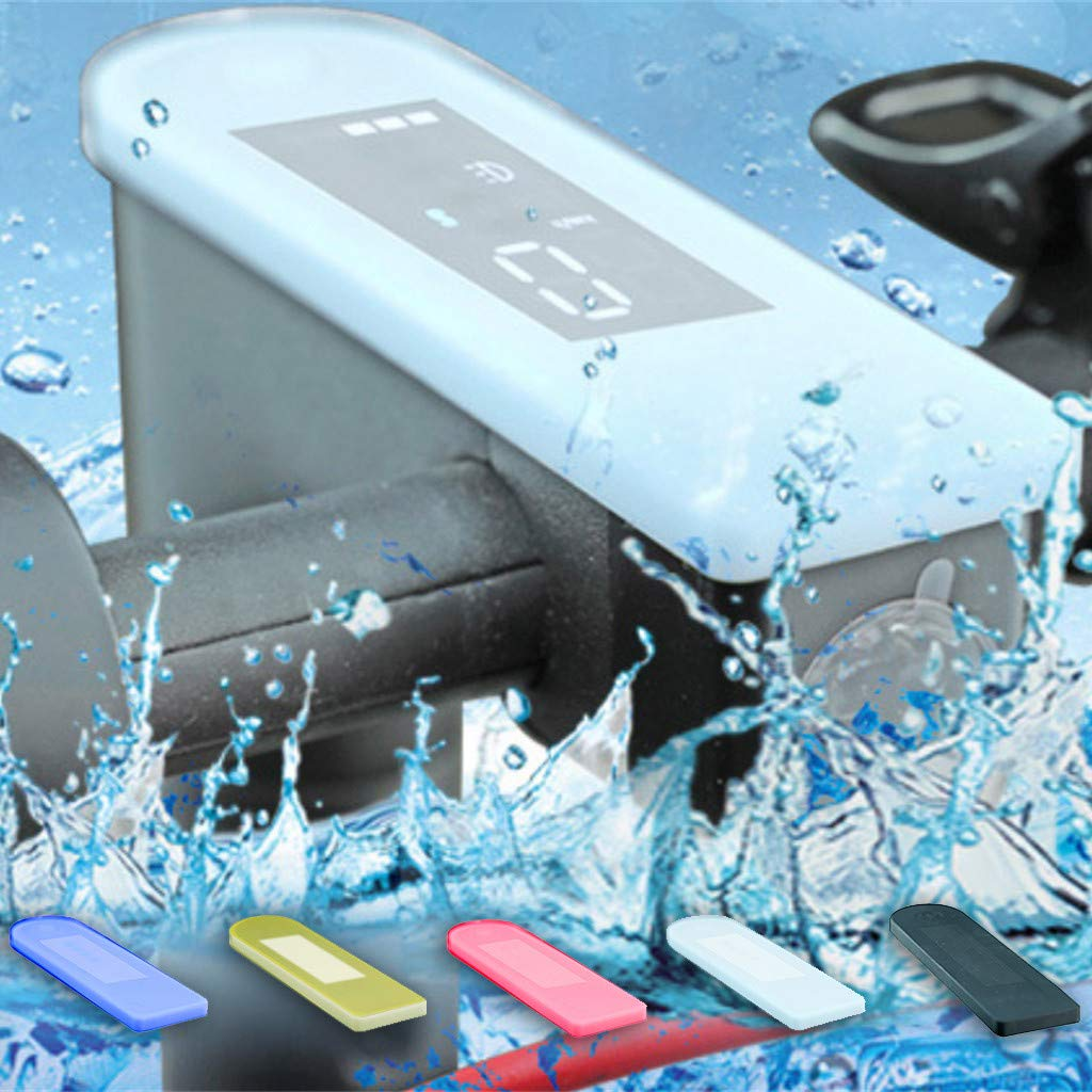 SMILEQ Funda de Silicona de Tablero de Circuito de la Cerradura de la Cerradura Reforzada Protege el Estuche Impermeable para Xiaomi 365
