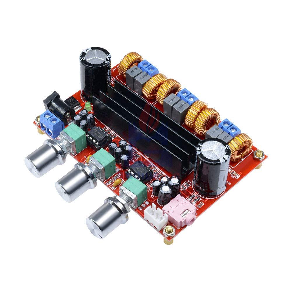 TPA3116 100W Subwoofer Digital Power Amplifier Board TPA3116D2 Amplifiers Gut KQ