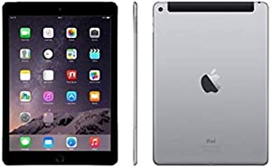 Apple Ipad Air 2 64GB Factory Unlocked (Space Gray, Wi-Fi + Cellular 4G) Newest Version (Renewed)
