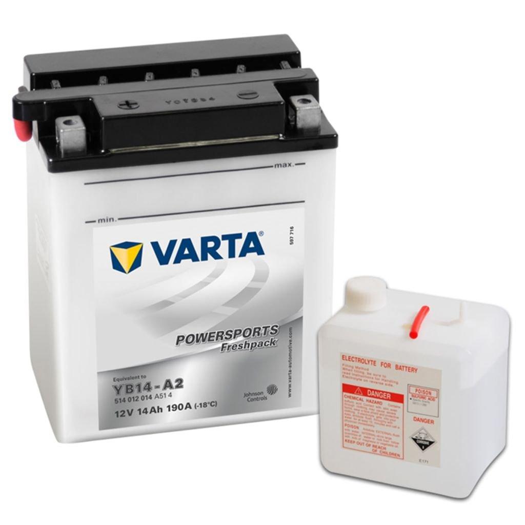 Varta 514012014 A514 Batterie de dé marrage 558154