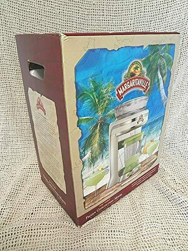 Margaritaville Key West Frozen Concoction Maker with Easy-Pour Jar, Extra-Large Ice Reservoir and Travel Bag