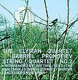 The Elysian Quartet: Gabriel Prokofiev String Quartet No.2 (Audio CD)