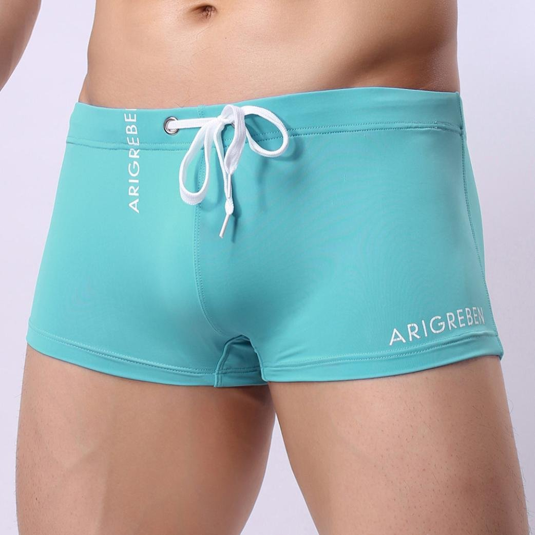 Men Swimwear Shorts,Haoricu Clearance New Mens Boxer Briefs Swimming Swim Shorts Trunks Swimwear Pants